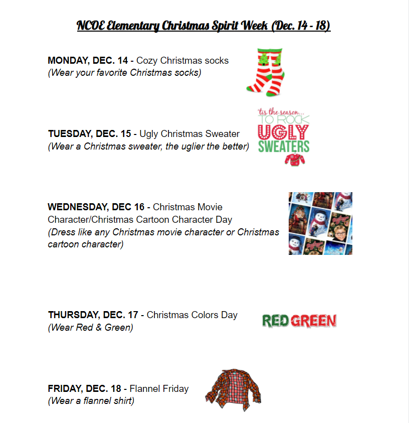 ChristmasSpiritWeek