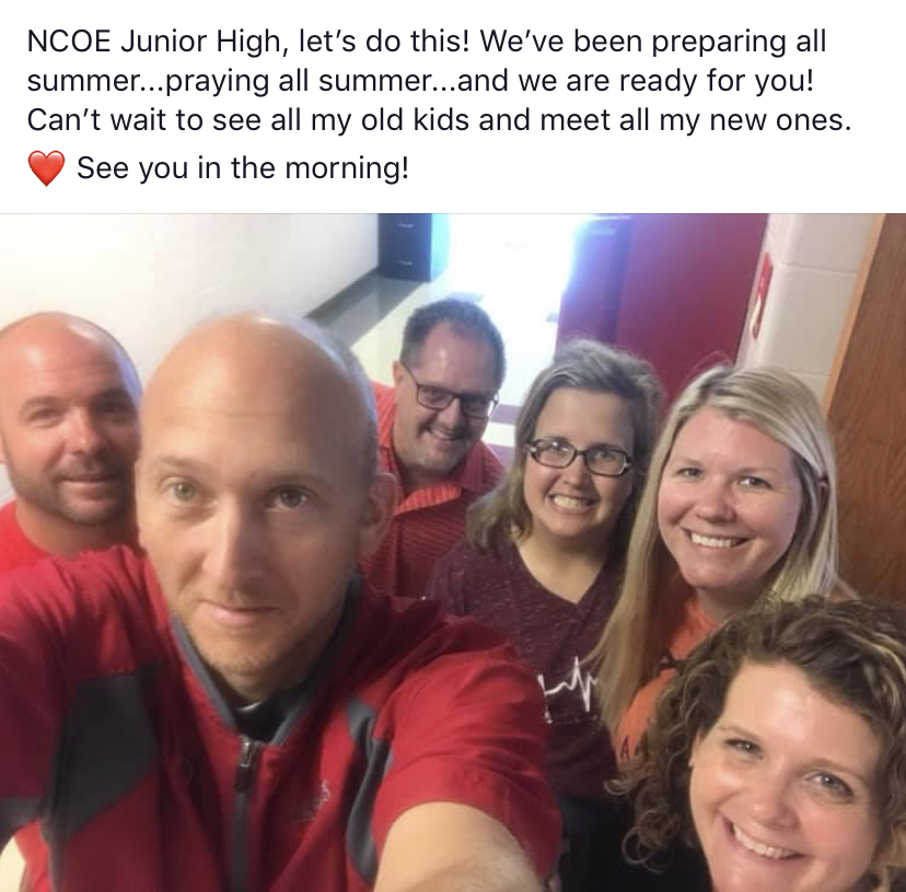 NCOE Junior High is READY!