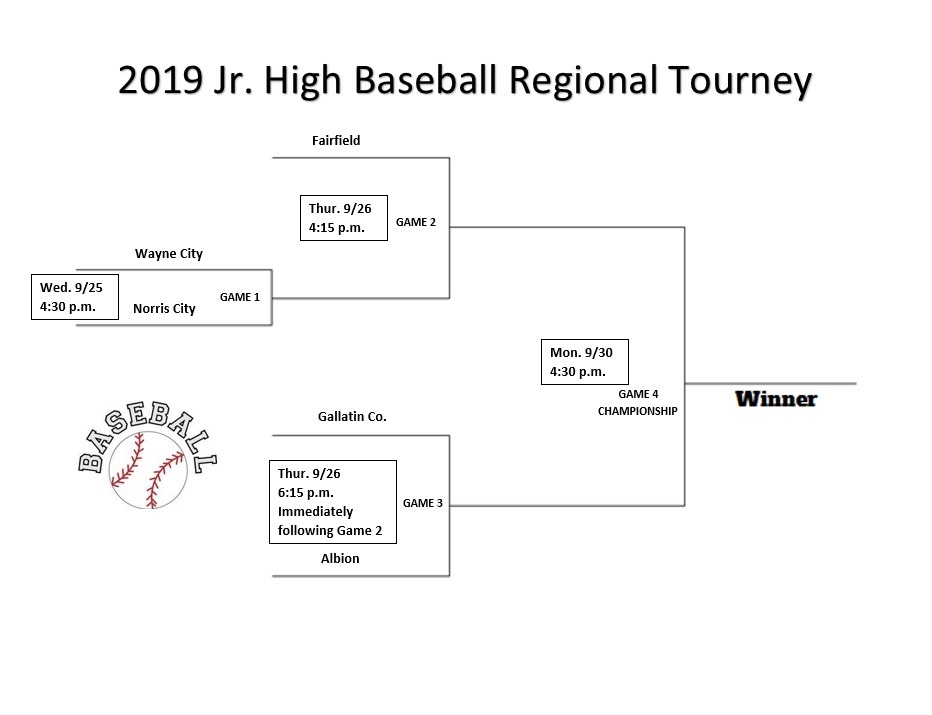 Baseball Regional Jr. High