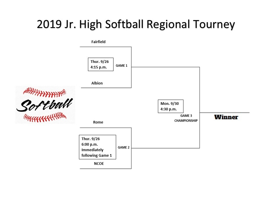 Softball Regional Jr. High