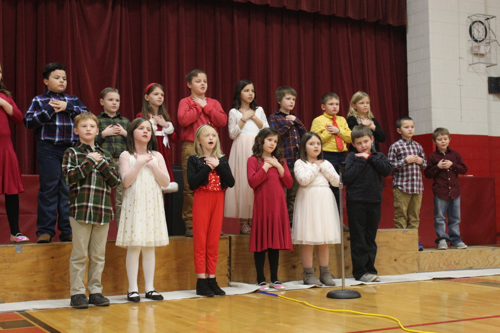 Booth's Christmas Program
