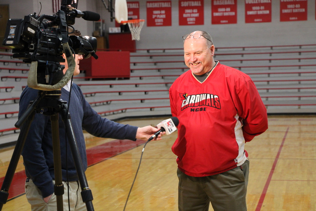 WSIL Interviews Coach Tucker